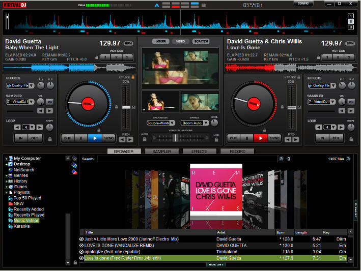 Virtual DJ Pro Basic  Get the software safe and easy