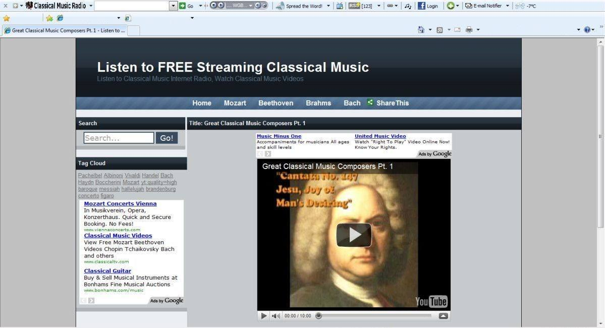 Free streaming classical music