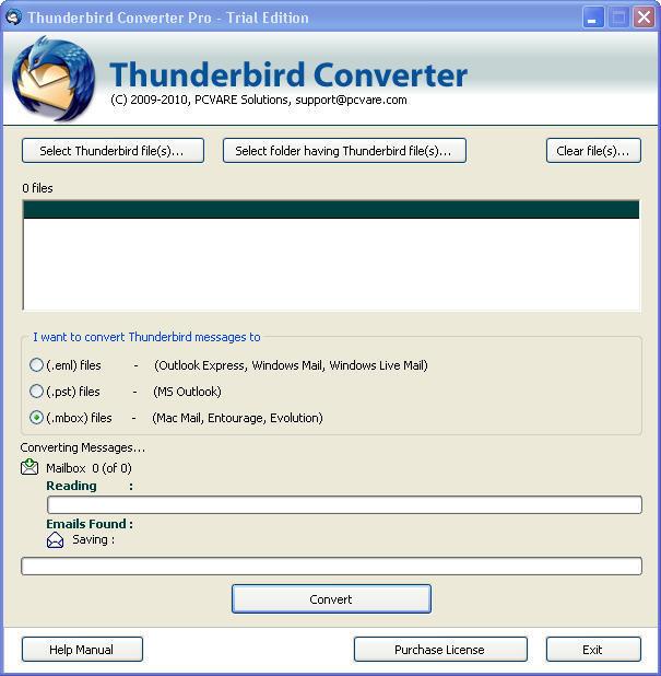 Pcvare thunderbird converter pro