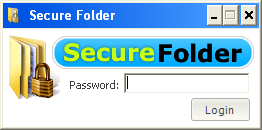 Password Login Window