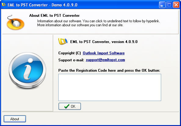 EML to PST Converter  Get the software safe and easy