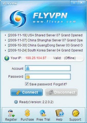 FlyVPN 3 4 Download - FlyVPN exe