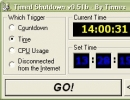 What time do you want to shutdown your computer?