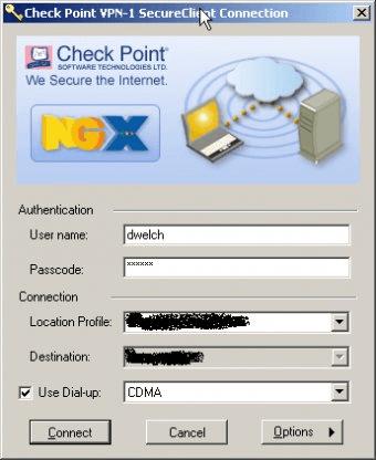 Check Point VPN-1 SecuRemote/SecureClient NGX R60 HFA1