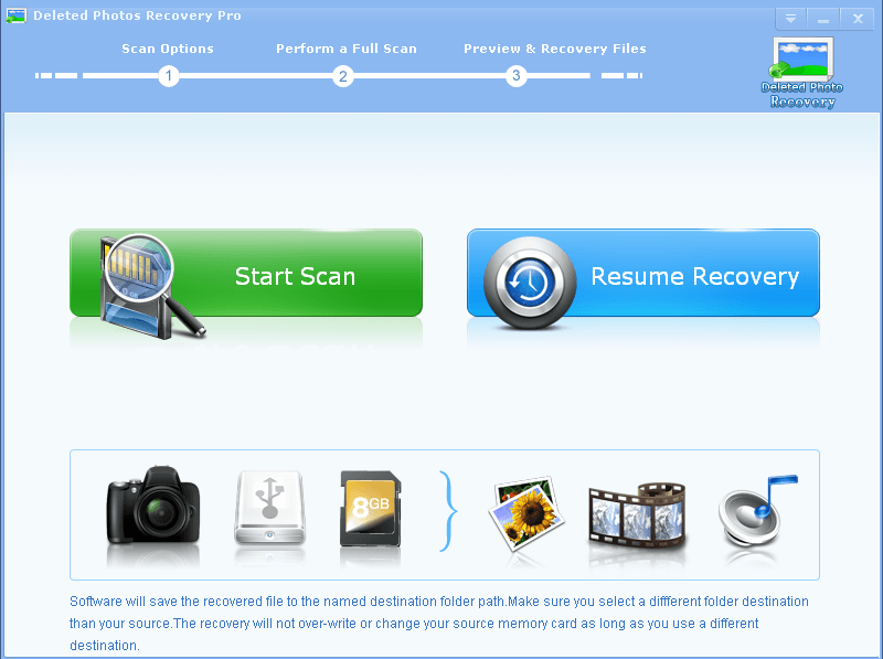 Deleted Photos Recovery Pro