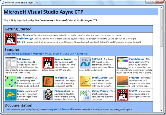 Microsoft Visual Studio Async CTP 1 0 Download (Free