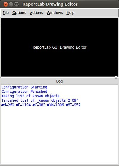Drawing Editor Window