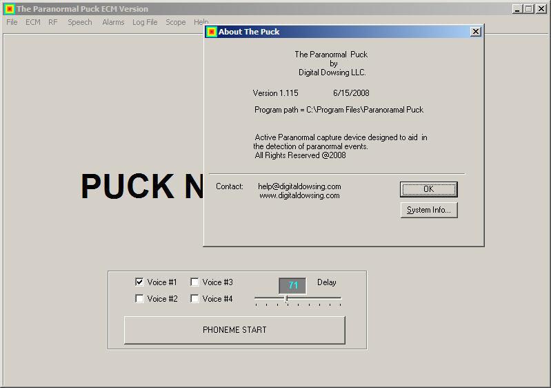 Paranormal Puck 1 1 Download (Free) - ThePuck exe