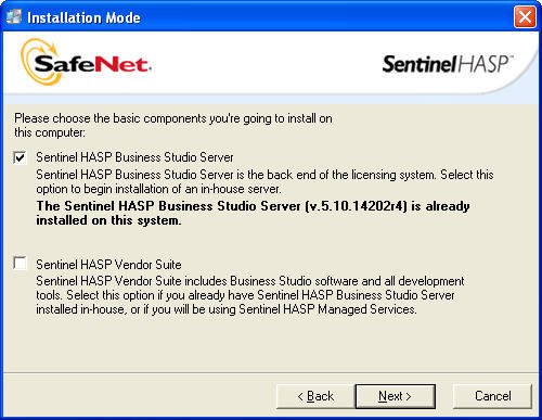 Sentinel HASP Business Studio Server - Software Informer  Is