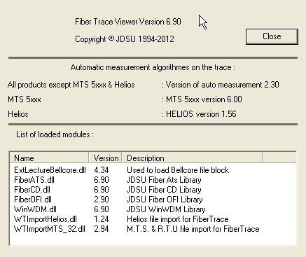Fiber Trace Viewer Download - It allows you to measure the