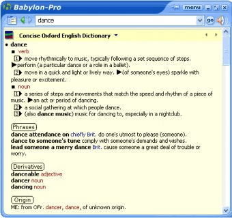 Babylon Translator Download - Babylon 7 is a powerful dictionary and