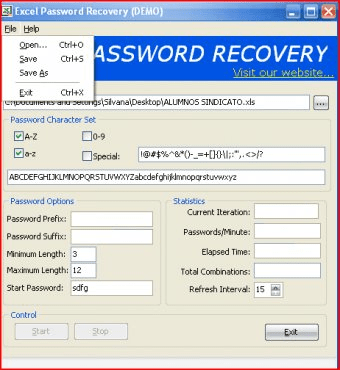 Excel Password Recovery 3 5 Download (Free