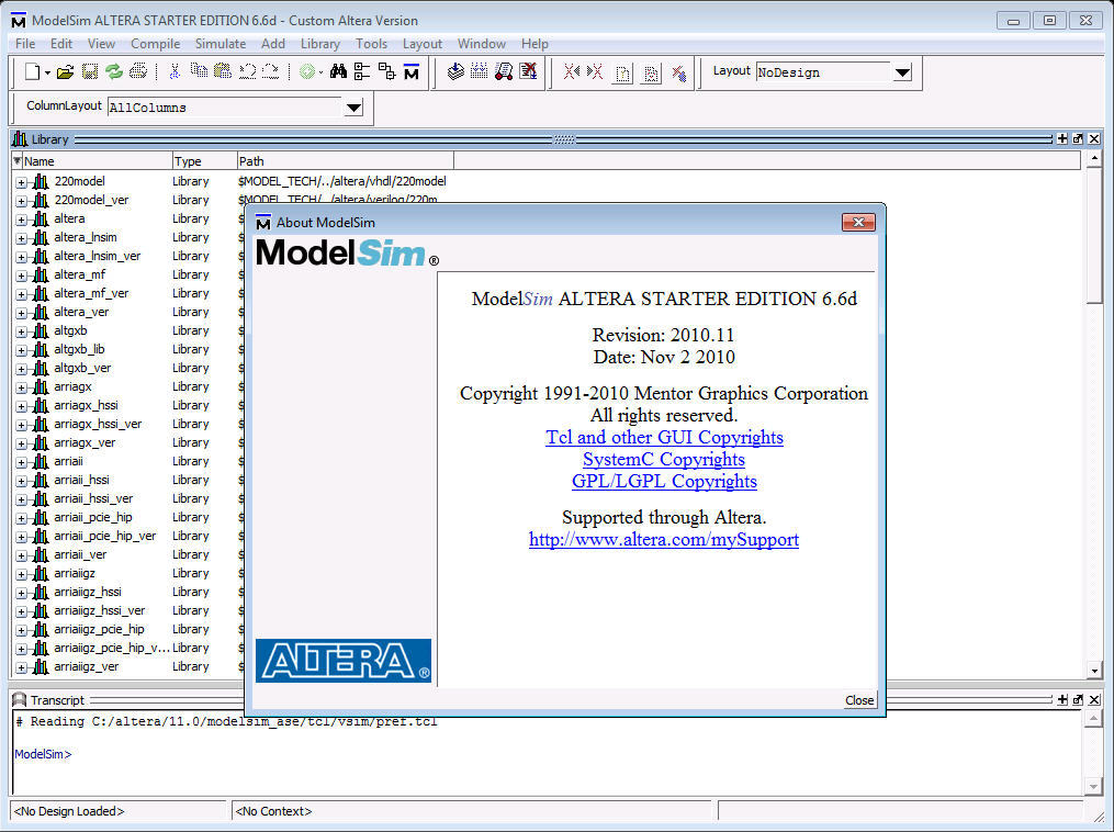 modelsim 9.1