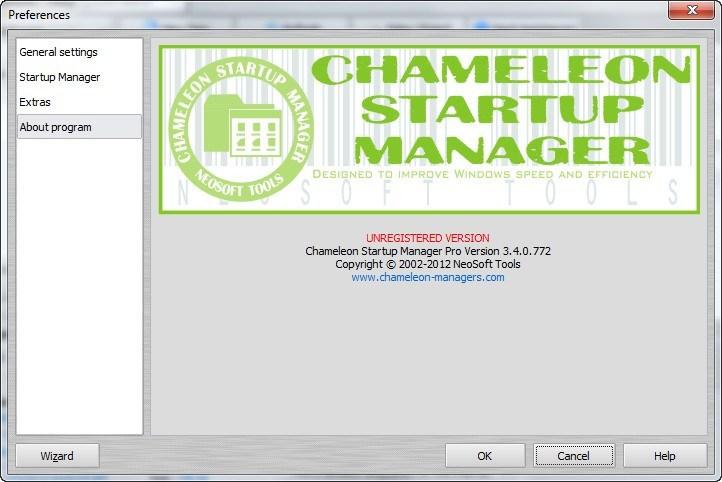 Chameleon Startup Manager  Get the software safe and easy
