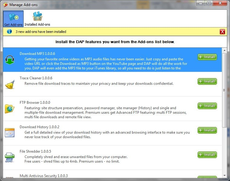 Download Accelerator Plus 9 5 Download - DAP exe