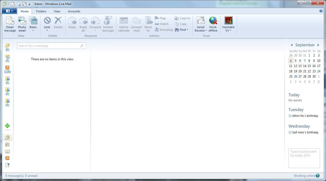 windows live mail 15.4 free email program