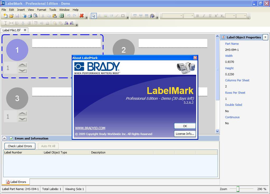 brady label maker software download