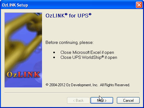 OzLINK for UPS 3 6 Download (Free trial) - OzLINK for UPS OnLine