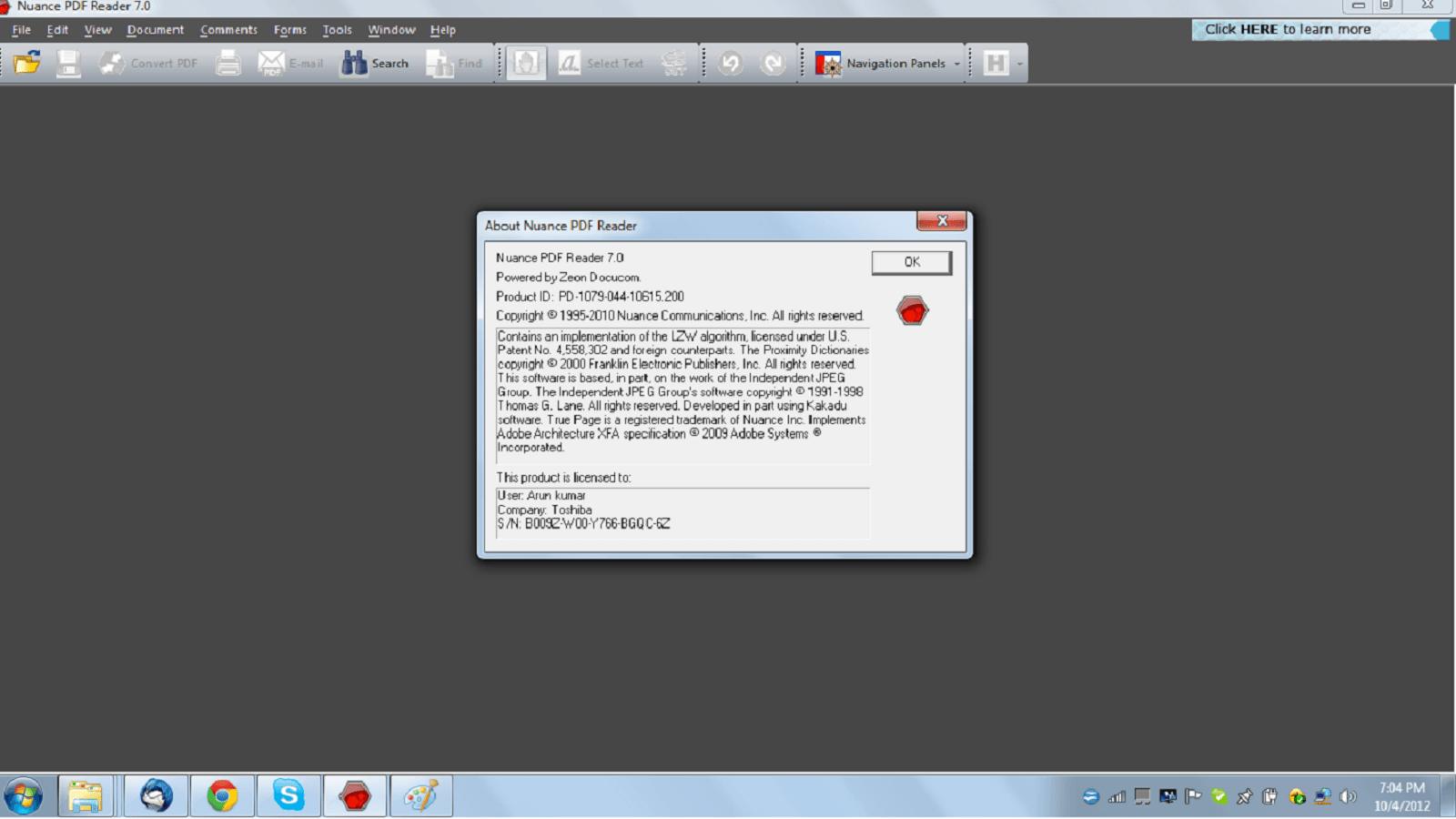 Nuance PDF Reader 8 1 Download (Free) - PDFReader exe