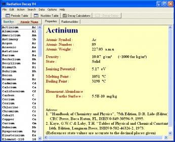raddecay software