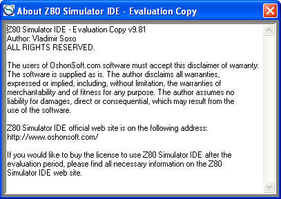 Z80 Simulator IDE  Get the software safe and easy