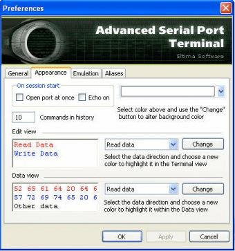 Advanced Serial Port Terminal Download Free Version (Terminal exe)