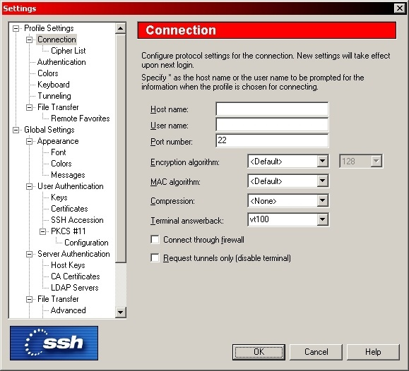 SSH Secure Shell  Get the software safe and easy