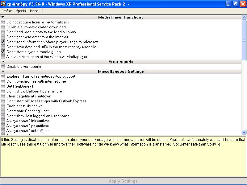 xp-antispy 3.96