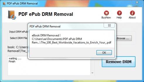 PDF ePub DRM Removal 2 0 Download (Free trial) - PDFDRM exe