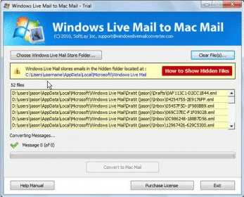 microsoft windows live mail for mac