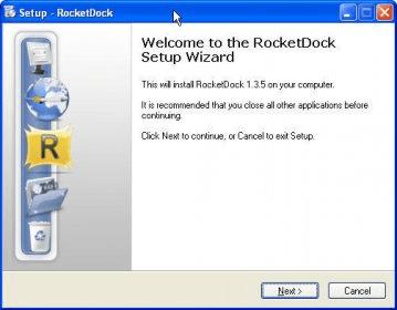 Rocket Dock Download - RocketDock is a smoothly animated