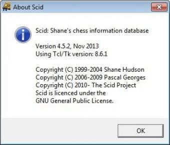 Scid 4 5 Download (Free) - scid exe