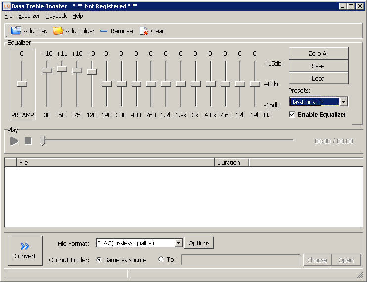 Bass Treble Booster  Get the software safe and easy