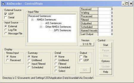 Ais Decoder - Software Informer  Decodes all the NMEA VDM or VDO