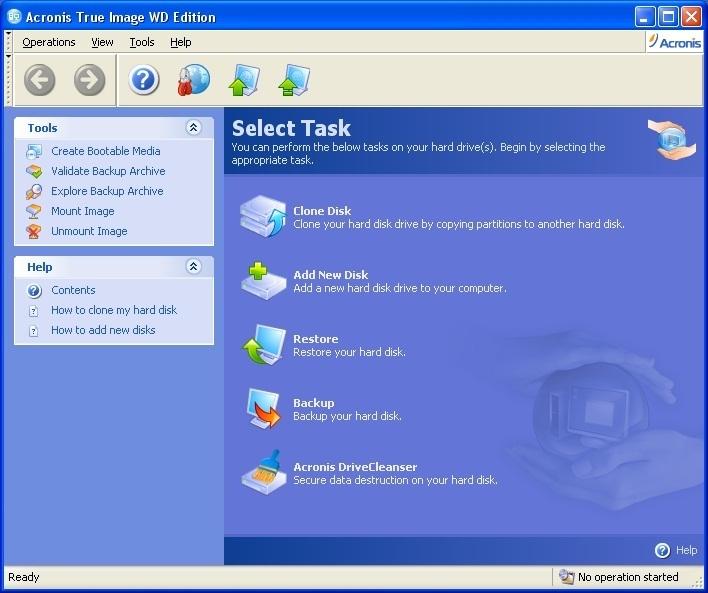Sandisk Cloning Software Acronis