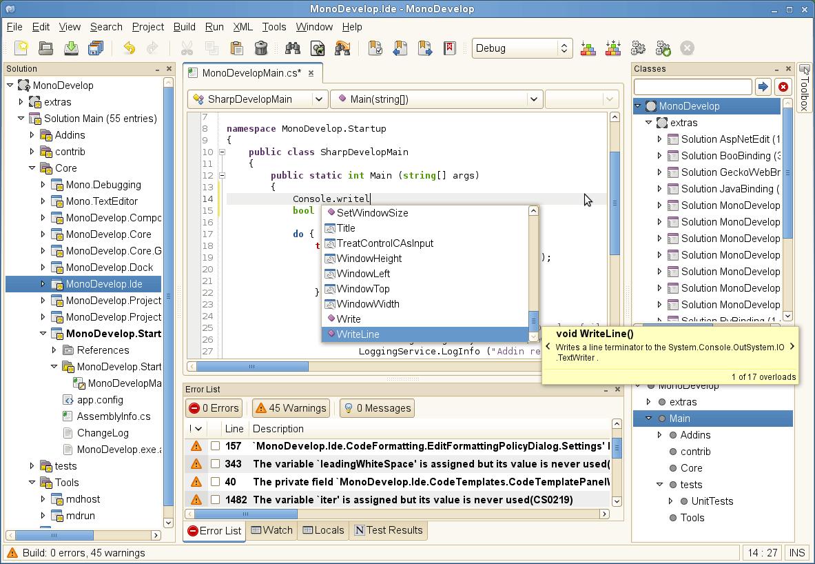 MonoDevelop 3 0 Download (Free) - MonoDevelop exe