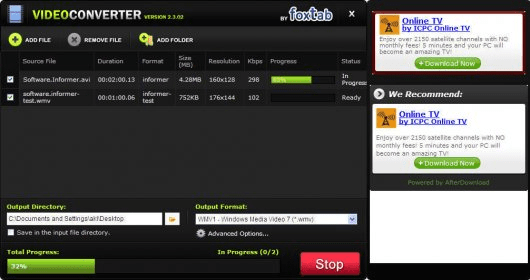 foxtab video converter gratuit