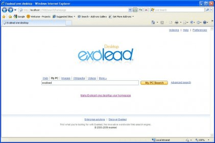 Exalead one:desktop free edition 4. 6 download (free.