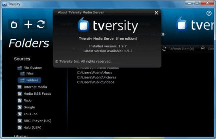 tversity media server 1.9.3
