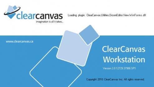 clearcanvas workstation 2.0 sp1