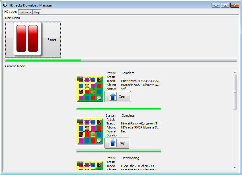 HDtracks Download Manager - Software Informer  Experience the free