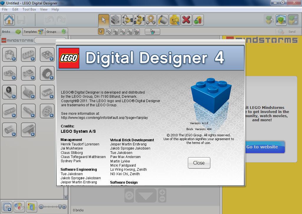4.2.5 DIGITAL DESIGNER TÉLÉCHARGER LEGO