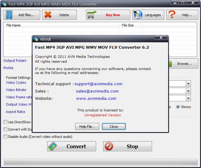 Fast MP4 3GP AVI MPG WMV RM MOV FLV Converter  Get the software safe and  easy