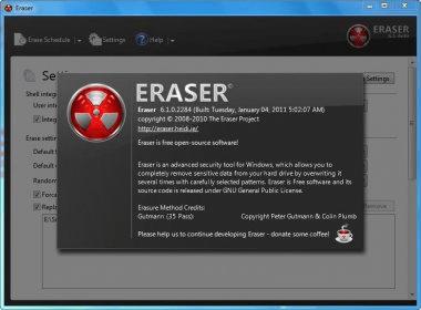 eraser 5.7