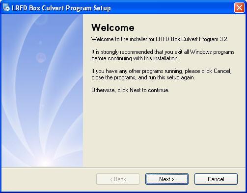 Lrfd Box Culvert Program 3 2 Download Free