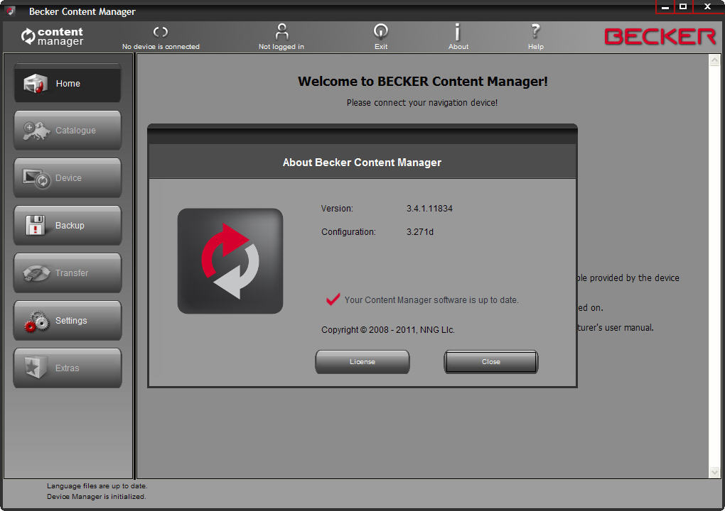 Becker Content Manager 3 4 Download (Free) - BeckerContentManager exe