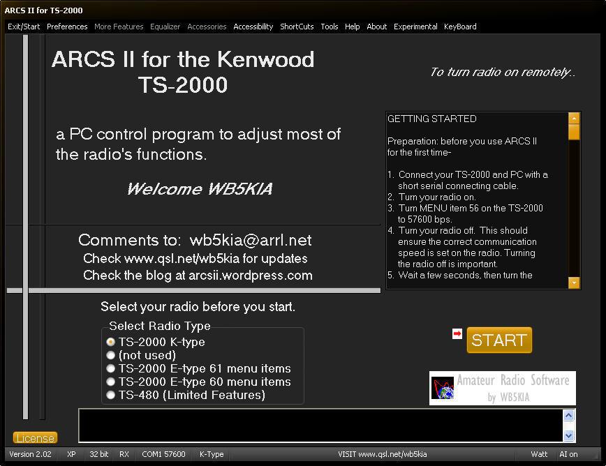 ARCS II Download - Free CAT program using the advanced