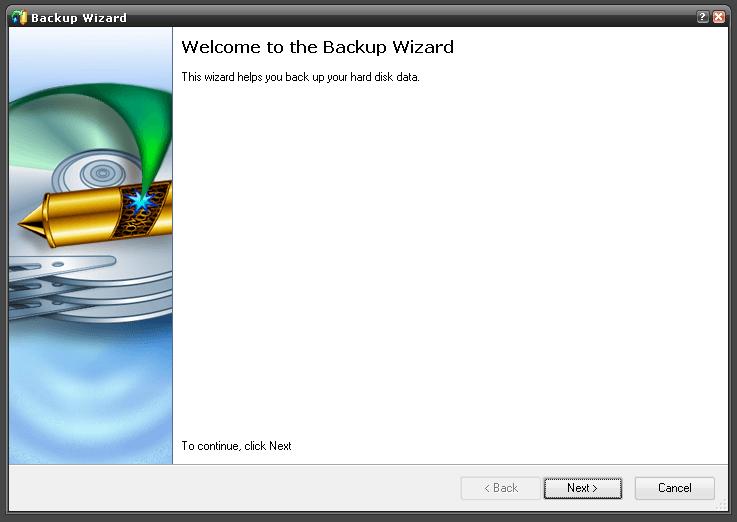 Backup Wizard