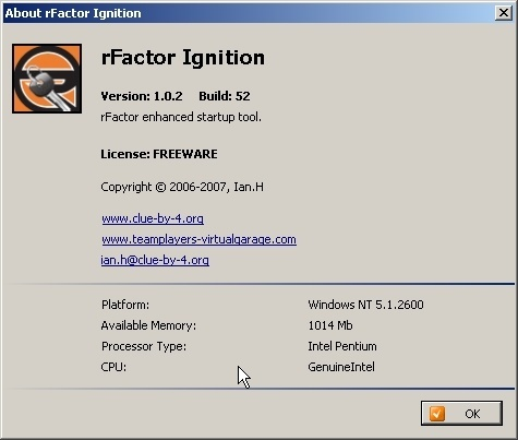 rFactor Ignition Download - Great tool to customize your rFactor