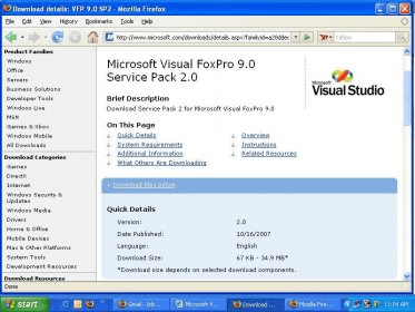 Free download microsoft visual foxpro 9. 0 full version for windows.